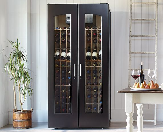European Country Wine Cabinet