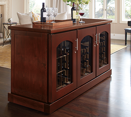 Placement Requirements for Le Cache Wine Cabinets