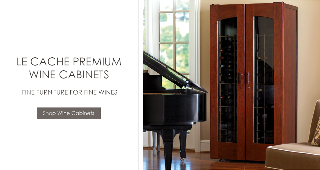 Le Cache Premium Wine Cabinets - Shop Now