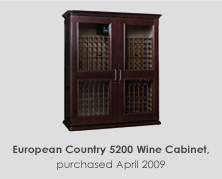 European Country 5200 Wine Cabinet