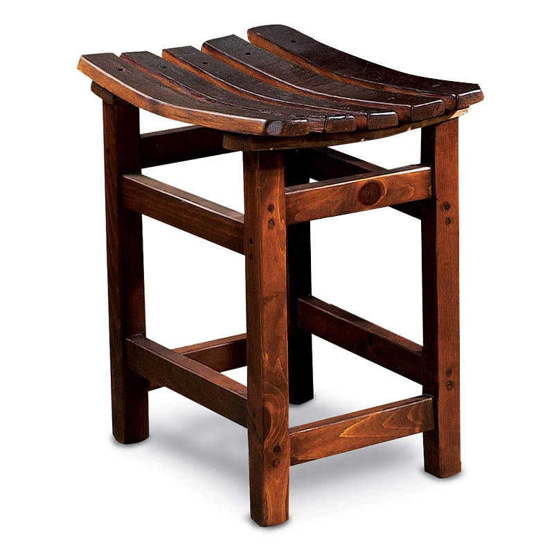 Recycled Barrel Stave Tasting Stool #16815